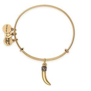 Alex + Ani HORN Expandable Bangle Bracelet NWT